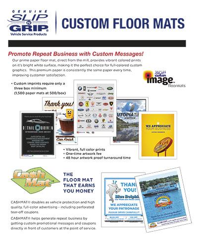 Slip-N-Grip® Custom Floor Mats