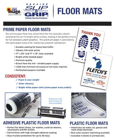 Slip-N-Grip® Floor Mats