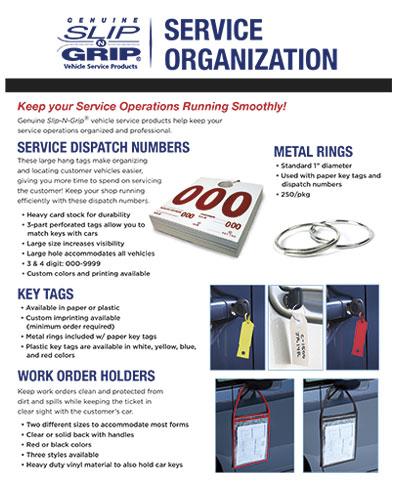 Slip-N-Grip® Service Organization