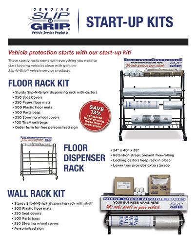 Slip-N-Grip® Start-Up Kits